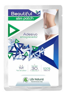 Beautiful Slim Patch Emagrecedores Adesivos Life Natural + Brinde Beautiful Life Emagrecedor Forte