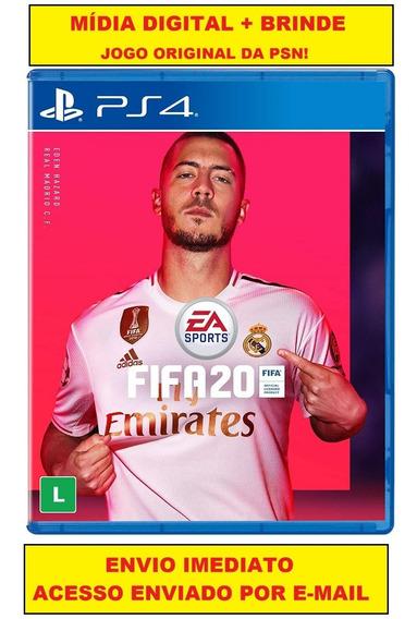 Fifa 2020 Ps4 Mídia Digital Psn + Brinde