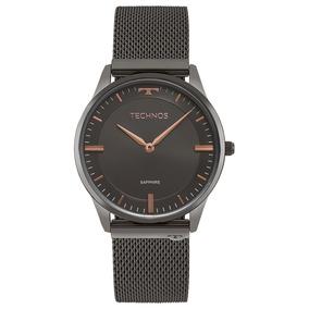 Relógio Technos Classic Slim Masculino 9t22ao/4p
