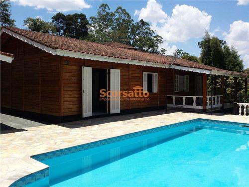 Chácara Com 3 Dorms, Refúgio Da Serra, Itapecerica Da Serra - R$ 730 Mil, Cod: 527 - V527