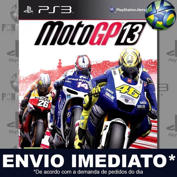 Motogp 13 Ps3 Psn Jogo Em Promoção A Pronta Entrega Play 3