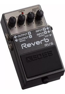 Boss Rv-6 Reverb Stereo Digital - Oddity