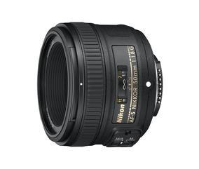 Lente Af-s Nikkor 50mm F/1.8g