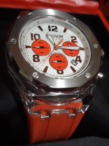 Relógio Masculino Magnum Analógico 100m-silicone Mt6060022j