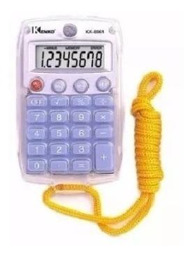 Kit Com 10 Calculadora Kk-8961  Cores Sortidas