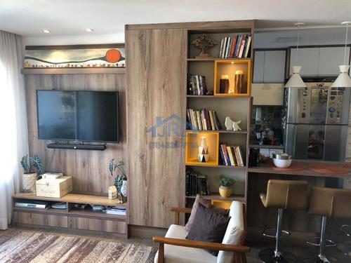 Apartamento Com 3 Dormitórios À Venda, 130 M² Por R$ 1.373.000 - Melville Empresarial Ii - Barueri/sp - Ap3793