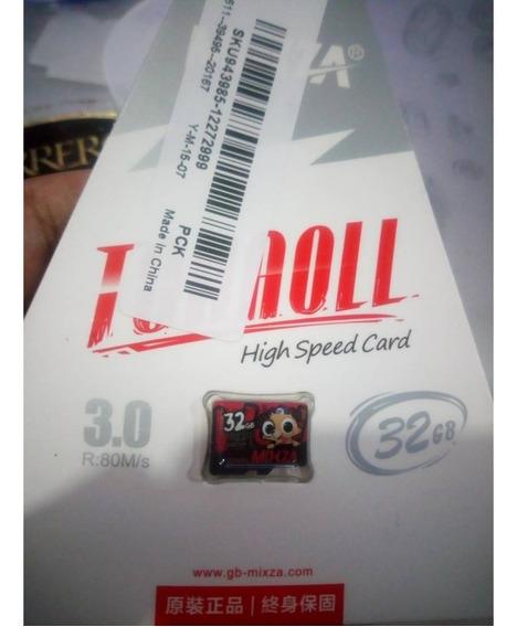 Micro Sd Microsd 32gb Mixza De Alta Velocidade Classe10