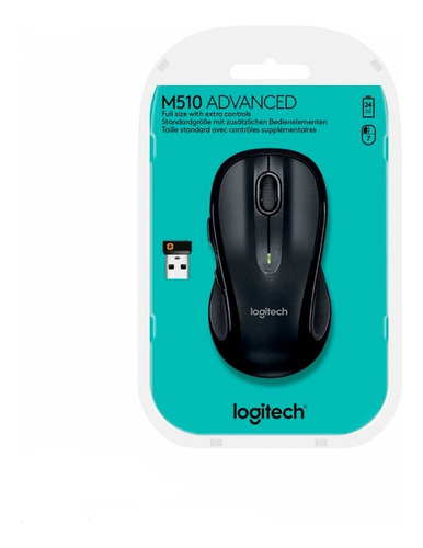 Mouse Logitech M510 Inalambrico Optico