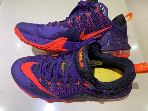 Zapatillas Nike Lebron James Origen Usa Únicas! Impecables!