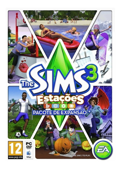 The Sims 3 Pc Origin - Games no Mercado Livre Brasil