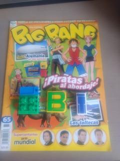 Revista Big Bang 65 + Robot Letra B I Abcdario One Piece