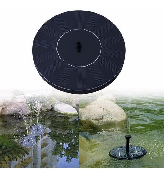Bomba De Agua Solar Flotante Fuente Estanque