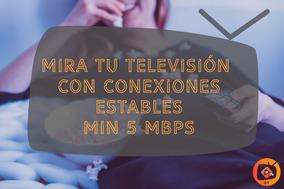 Televisión Por Internet Iptv/ 3 Pantallas