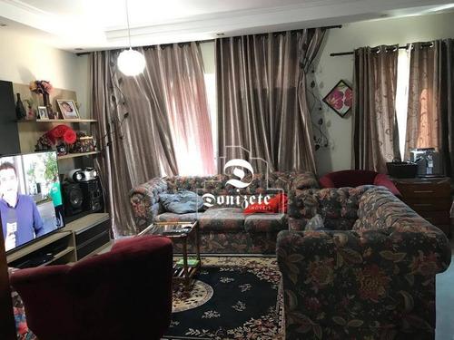 Sobrado Com 3 Dormitórios À Venda, 230 M² Por R$ 850.000,00 - Vila Guiomar - Santo André/sp - So2430