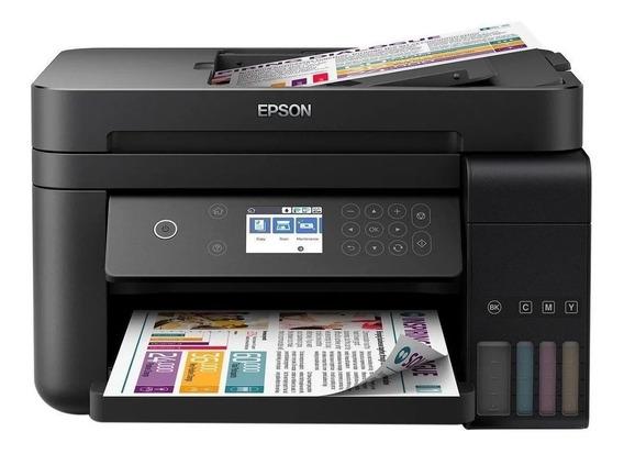 Impressora A Cor Multifuncional Epson Ecotank L6171 C Wi-fi