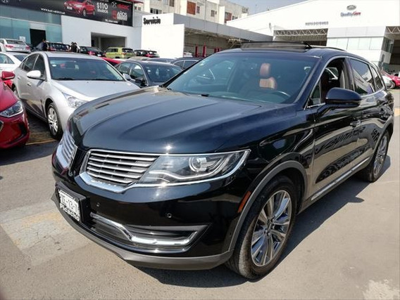 Lincoln Mkx V6 Awd Premier Piel Qc Nav 4x4 At 2017