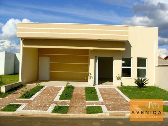 Casa Com 4 Dormitórios À Venda, 210 M² Por R$ 610.000,00 - Condomínio Terras Do Fontanário - Paulínia/sp - Ca0741