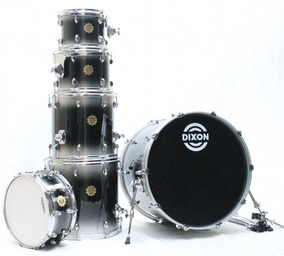 Bateria Dixon Outlaw 10/12/14/16/24/14cx 100% Maple