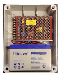Fuente Switching Ups 4amp Bateria 12v 7ha Router Modem Dvr