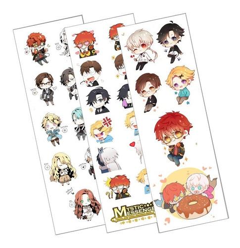 Plancha De Stickers De Mystic Messenger 707 Jumin Yoosung