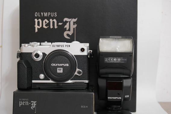 Camera Olympus Pen F M4/3