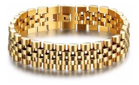 Pulseira Masculina Ouro 18 K- Promoção