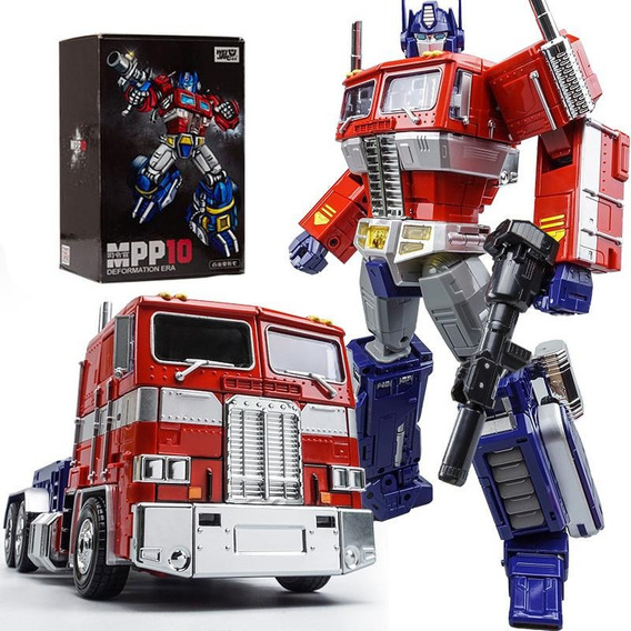 Transformers Wei Jiang Mpp10 Optimus Prime Mp Oversized Ko