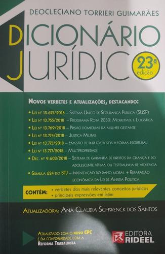 Dicionário Universitário Juridico - Torrieri - Edição Atual