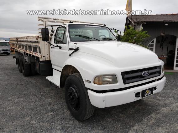 Ford F-12000 Mwm Turbo Reduzido Truck Carroceria Revisado