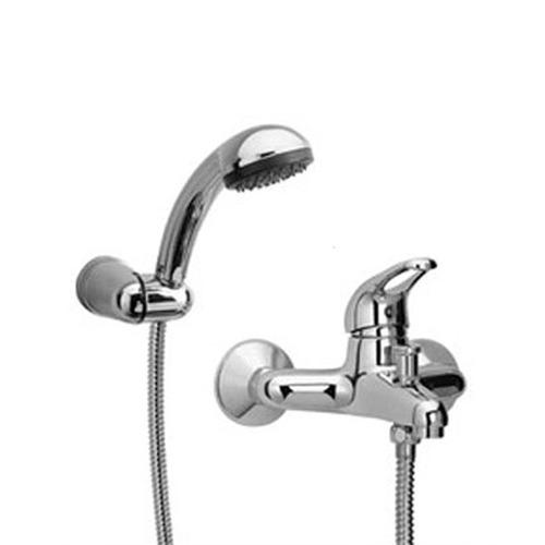 Griferia Ducha Monocomando Exterior C/transferencia P/bañera