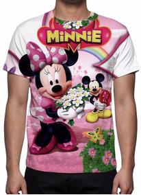 Camisa, Camiseta Disney Minnie