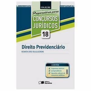 Direito Previdenciário Vol 18 - Renata Orsi