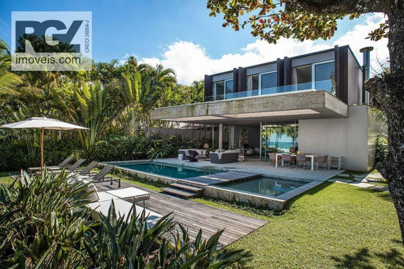 Casa Com 6 Dormitórios À Venda, 675 M² Por R$ 26.000.000 - Baleia - São Sebastião/sp - Ca0642