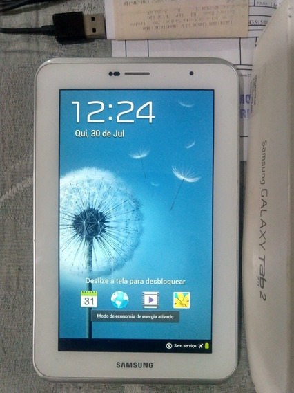 Novíssimo Tablet Samsung Galaxy Tab 2 7.0