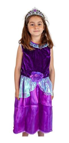 Disfraz Infantil De Princesa Todos Los Talles