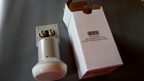 10 Lnb Duplo Sensor 2 Saídas Universal Ku P Antena 60 90 C