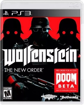 Jogo Wolfenstein The New Order Ps3 Mídia Física