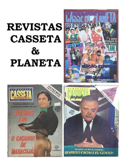 Lote Revistas Casseta E Planeta (envio Grátis) - Escolha 1