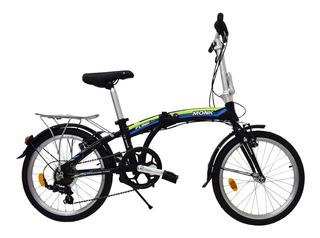 Bicicleta Flink Plegable/alum Rodada-20 7 Velocidades