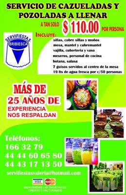 Cazueladas Y Banquetes Bribiesca