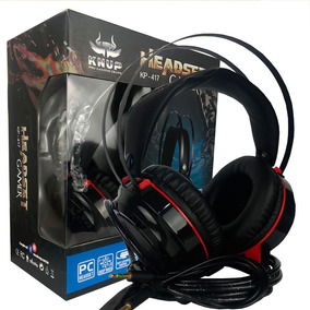 Headphone Gamer Top Jogos Pc Notebook 7.1 Kp-417