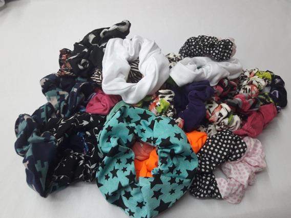 Scrunchies (pack X 10 Unidades - Grandes)