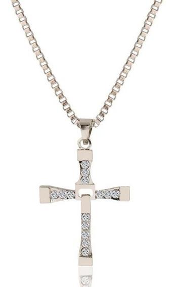 Colar Cruz Crucifixo Dominic Toretto Velozes E Furiosos