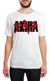 Camiseta Akira Geek Anime Mangá