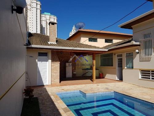 Casa À Venda, 340 M² Por R$ 1.650.000,00 - Jardim Campos Elísios - Jundiaí/sp - Ca0858