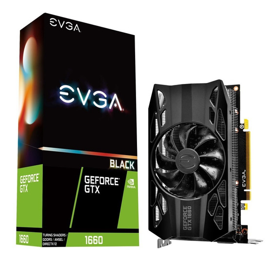 Placa Video Evga Geforce Gtx 1660 6gb Black Gaming Mexx 3
