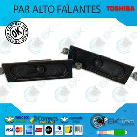 Falantes Tv Toshiba 40l2600 Original Testados