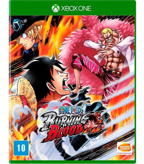 Jogo One Piece Burning Blood Xbox One Midia Fisica Original