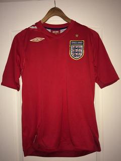 Camisa Inglaterra Away Cup 2006 (original Importada) P
