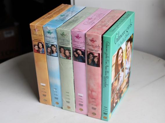 Coleção Dvd Gilmore Girls 1 2 4 5 7 E Um Ano Para Recordar